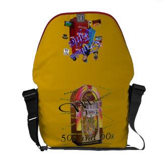 Fifties Memorbilia icons Messenger Bag
