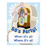 Fifties Party Flyer