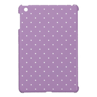 Fifties Style African Violet Purple Polka Dot Case For The iPad Mini