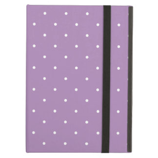 Fifties Style African Violet Purple Polka Dot iPad Air Cases