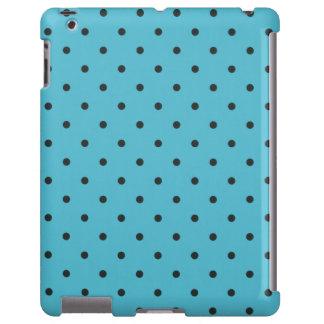 Fifties Style Aqua Polka Dot iPad 2/3/4 Case
