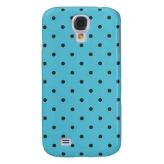 Fifties Style Aqua Polka Dot Samsung S4 Case