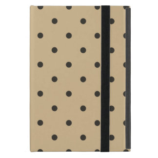 Fifties Style Beige Polka Dot iPad Mini Covers