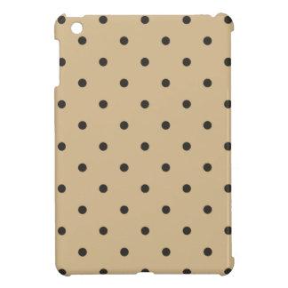 Fifties Style Beige Polka Dot iPad Mini Cover