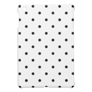 Fifties Style Black and White Polka Dot Cover For The iPad Mini