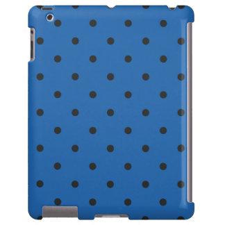 Fifties Style Blue Polka Dot iPad 2/3/4 Case