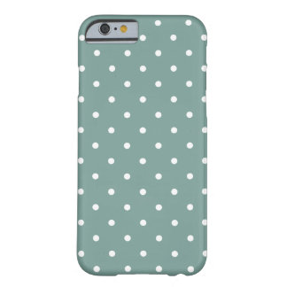 Fifties Style Blue Polka Dot iPhone 6 case iPhone 6 Case