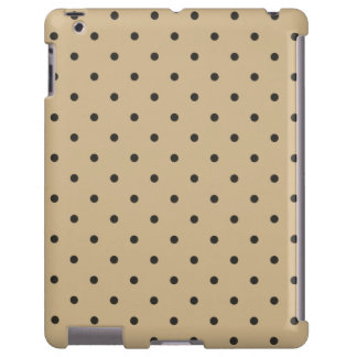 Fifties Style Brown Polka Dot iPad 2/3/4 Case
