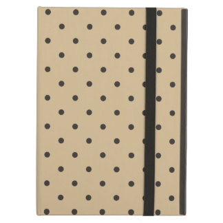 Fifties Style Brown Polka Dot iPad Air Case