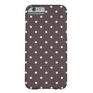 Fifties Style Brown Polka Dot iPhone 6 case iPhone 6 Case