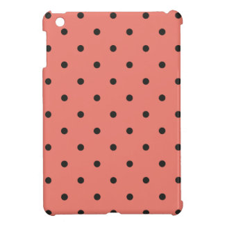 Fifties Style Coral Polka Dot Case For The iPad Mini