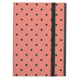 Fifties Style Coral Polka Dot iPad Air Case