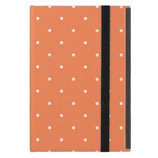 Fifties Style Coral Polka Dot iPad Mini Case