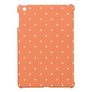 Fifties Style Coral Polka Dot iPad Mini Covers