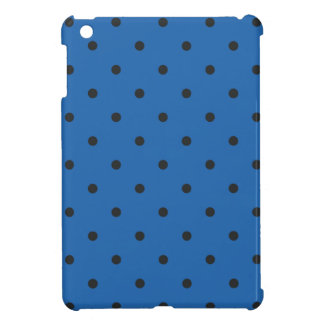 Fifties Style Dazzling Blue Polka Dot Cover For The iPad Mini