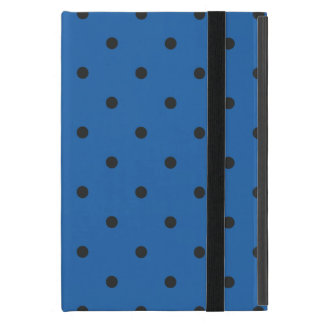 Fifties Style Dazzling Blue Polka Dot Covers For iPad Mini