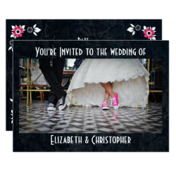 Fifties Style Diner Wedding Invitation
