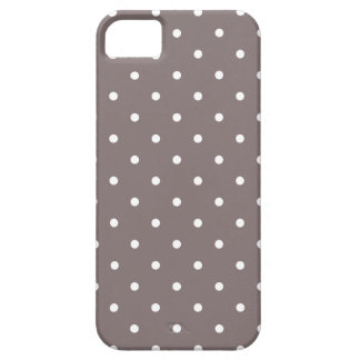 Fifties Style Driftwood Polka Dot iPhone 5 Case iPhone 5 Covers