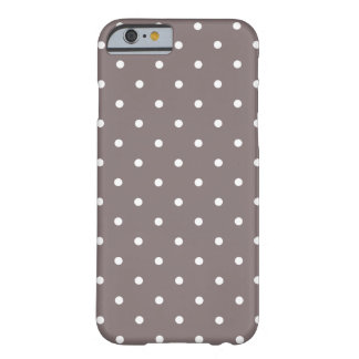Fifties Style Driftwood Polka Dot iPhone 6 case iPhone 6 Case