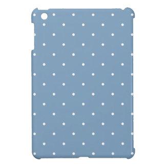 Fifties Style Dusk Blue Polka Dot Cover For The iPad Mini