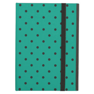 Fifties Style Emerald Gree Polka Dot iPad Air Case