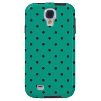 Fifties Style Emerald Green Polka Dot Galaxy S4 Case