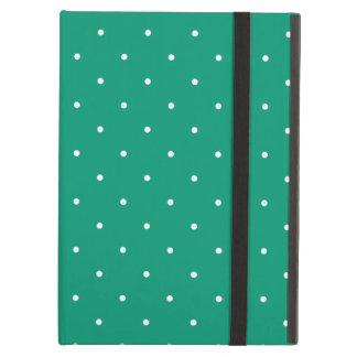 Fifties Style Emerald Green Polka Dot iPad Air Cover
