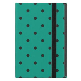 Fifties Style Emerald Green Polka Dot iPad Mini Cases
