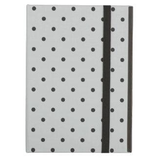 Fifties Style Gray Polka Dot iPad Air Case