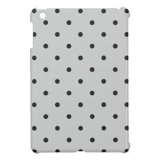 Fifties Style Gray Polka Dot iPad Mini Cover