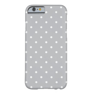Fifties Style Gray Polka Dot iPhone 6 case iPhone 6 Case