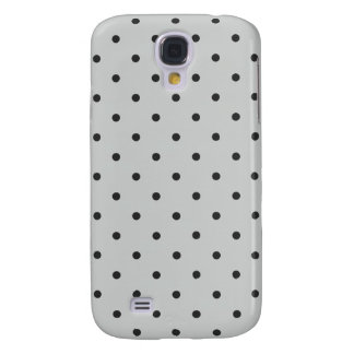 Fifties Style Gray Polka Dot Samsung Galaxy S4 Cover