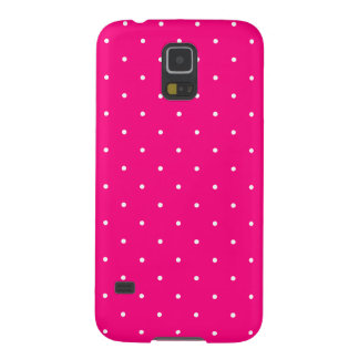 Fifties Style Hot Pink Polka Dot Galaxy S5 Cover