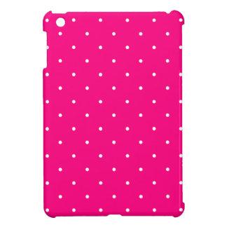 Fifties Style Hot Pink Polka Dot iPad Mini Covers