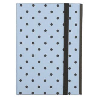Fifties Style Light Blue Polka Dot iPad Air Case