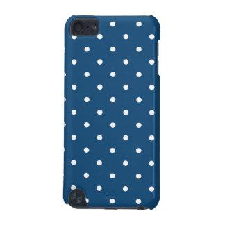 Fifties Style Midnight Blue Polka Dot iPod Case