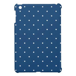 Fifties Style Monaco Blue Polka Dot iPad Mini Cases