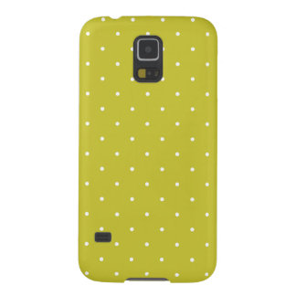 Fifties Style Olive Green Polka Dot Galaxy S5 Cover