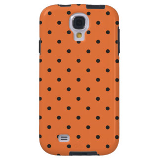 Fifties Style Orange Polka Dot Galaxy S4 Case