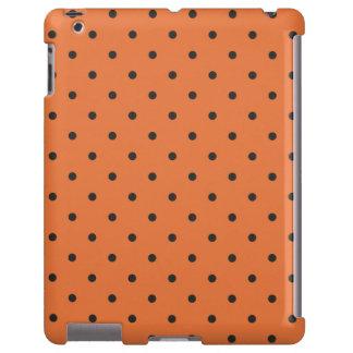 Fifties Style Orange Polka Dot iPad 2/3/4 Case