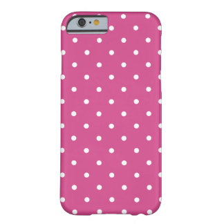 Fifties Style Pink Flambe Polka Dot iPhone 6 case  iPhone 6 Case