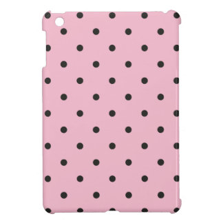 Fifties Style Pink Polka Dot iPad Mini Cover