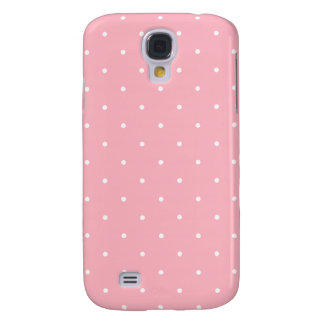 Fifties Style Pink Polka Dot Samsung Galaxy S4 Cover
