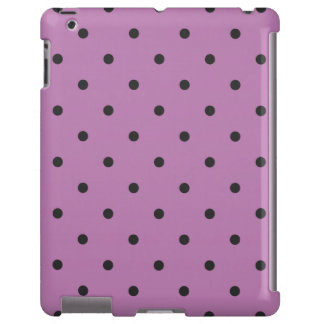 Fifties Style Purple Polka Dot iPad 2/3/4 Case