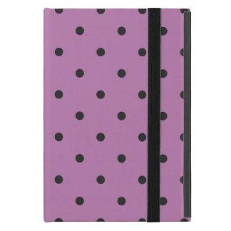 Fifties Style Purple Polka Dot Covers For iPad Mini