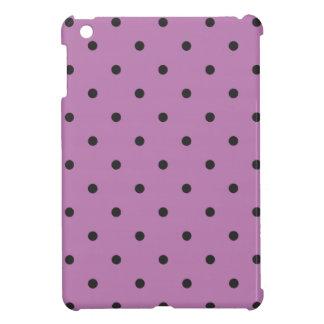 Fifties Style Purple Polka Dot iPad Mini Case