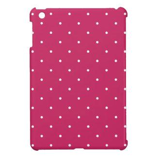 Fifties Style Raspberry Red Polka Dot iPad Mini Case
