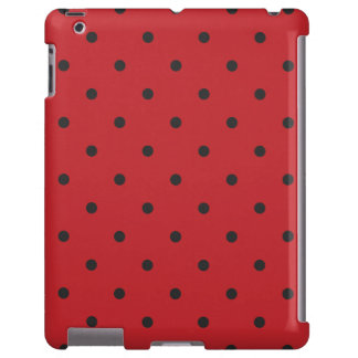 Fifties Style Red Polka Dot iPad 2/3/4 Case