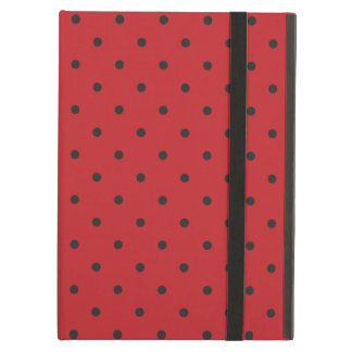 Fifties Style Red Polka Dot iPad Air Case