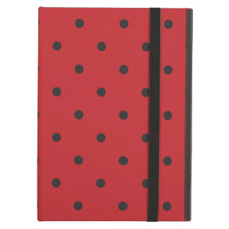 Fifties Style Red Polka Dot iPad Air Cases